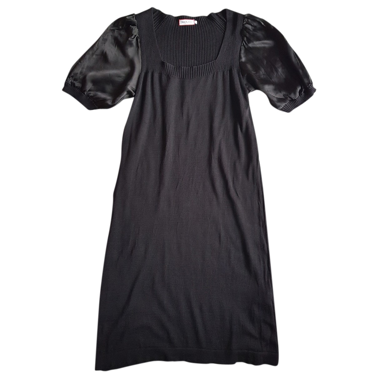 Max & Co N Black Silk dress for Women S International