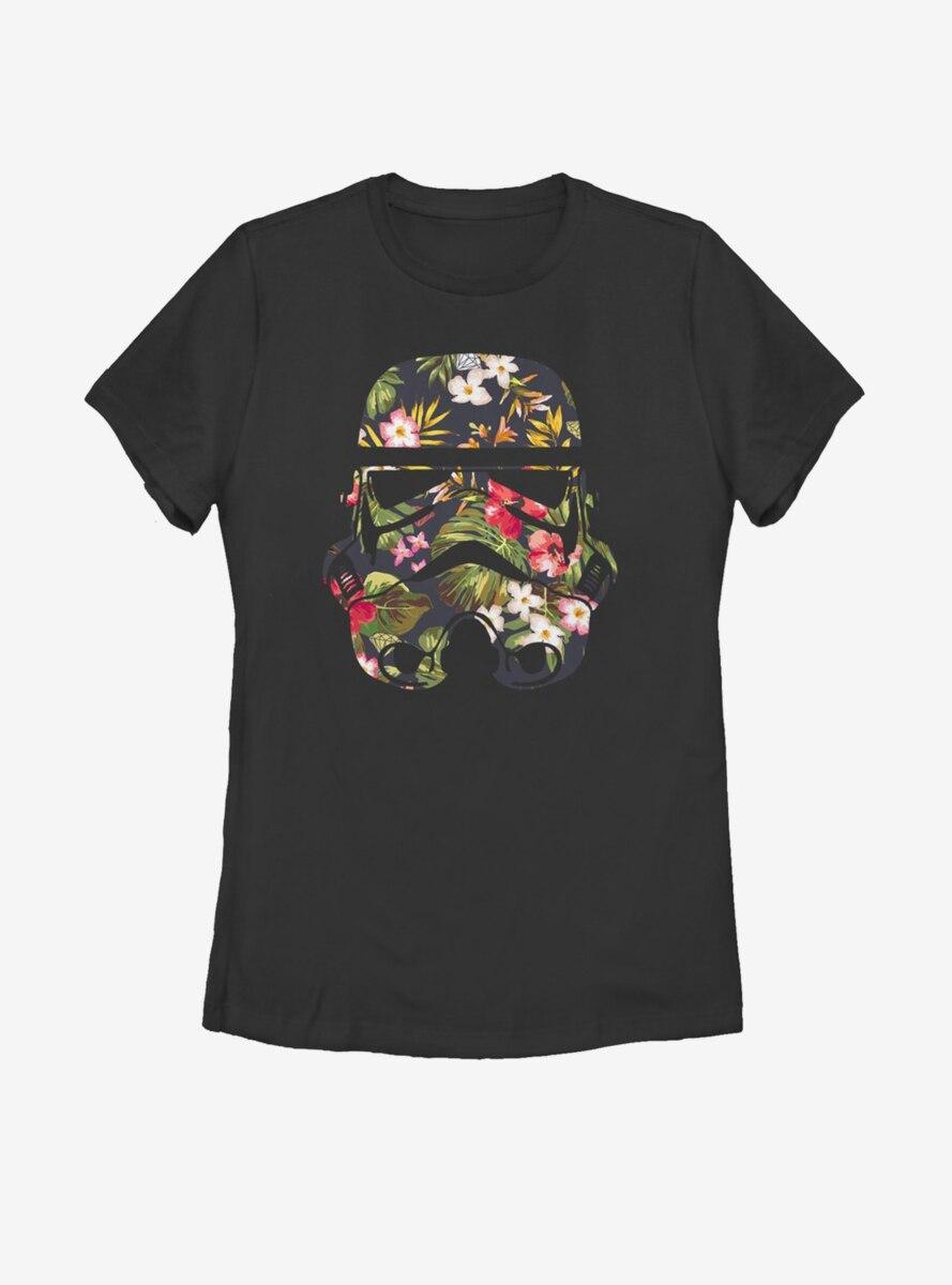 Star Wars Tropical Stormtrooper Womens T-Shirt