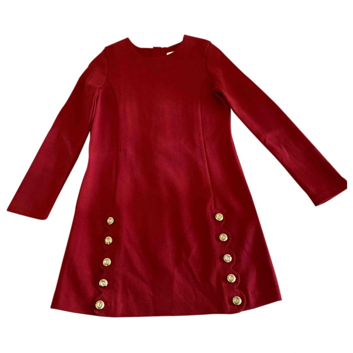 Chloé \N Red Cotton - elasthane dress for Kids 8 years - until 50 inches UK