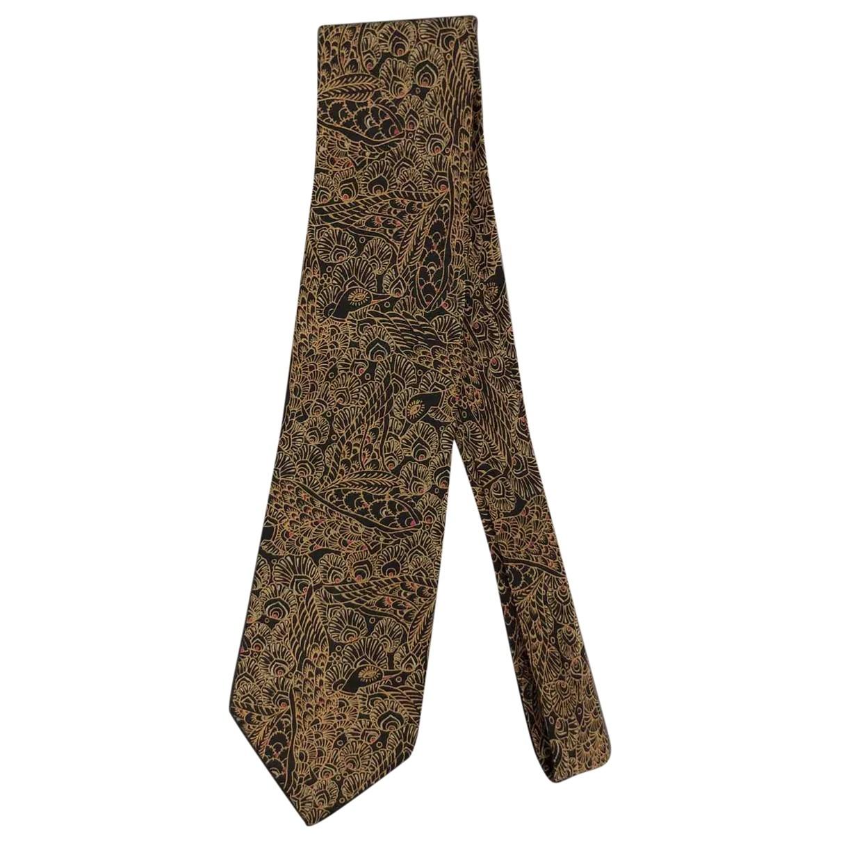 Pal Zileri - Cravates   pour homme en soie - noir