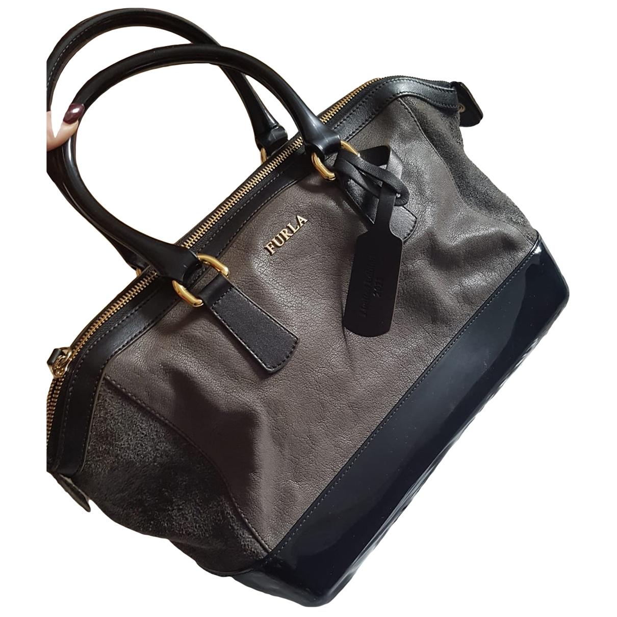 Furla Candy Bag Brown Leather handbag for Women \N