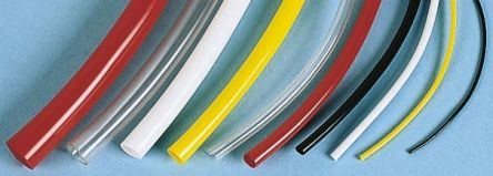 SES Sterling PVC Yellow Protective Sleeving, 5mm Diameter, 25m Length