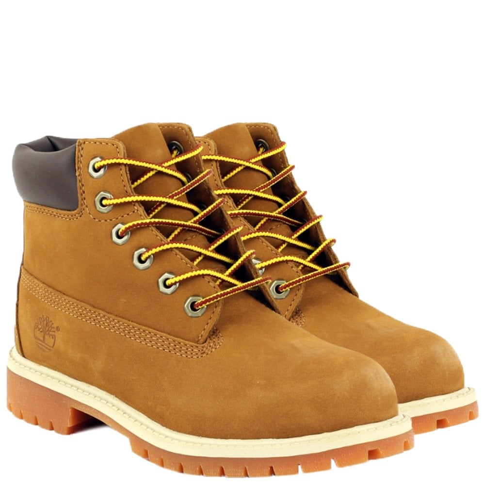 Timberland Kids Classic Brown Boot Colour: BROWN, Size: UK 12.5
