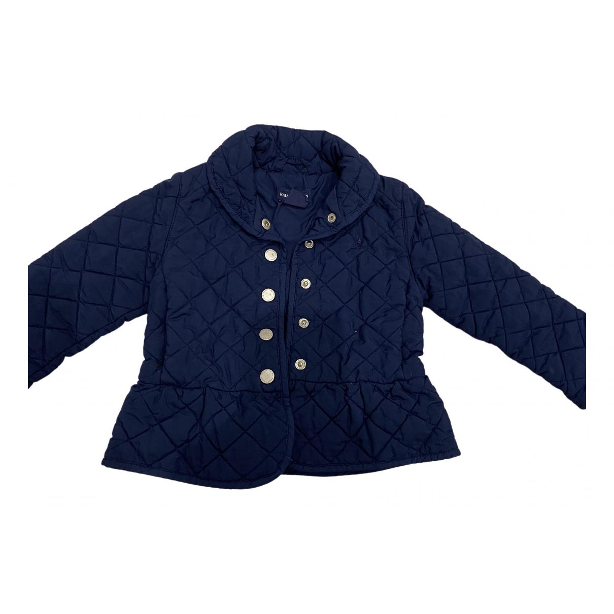 Ralph Lauren - Blousons.Manteaux   pour enfant en coton - marine