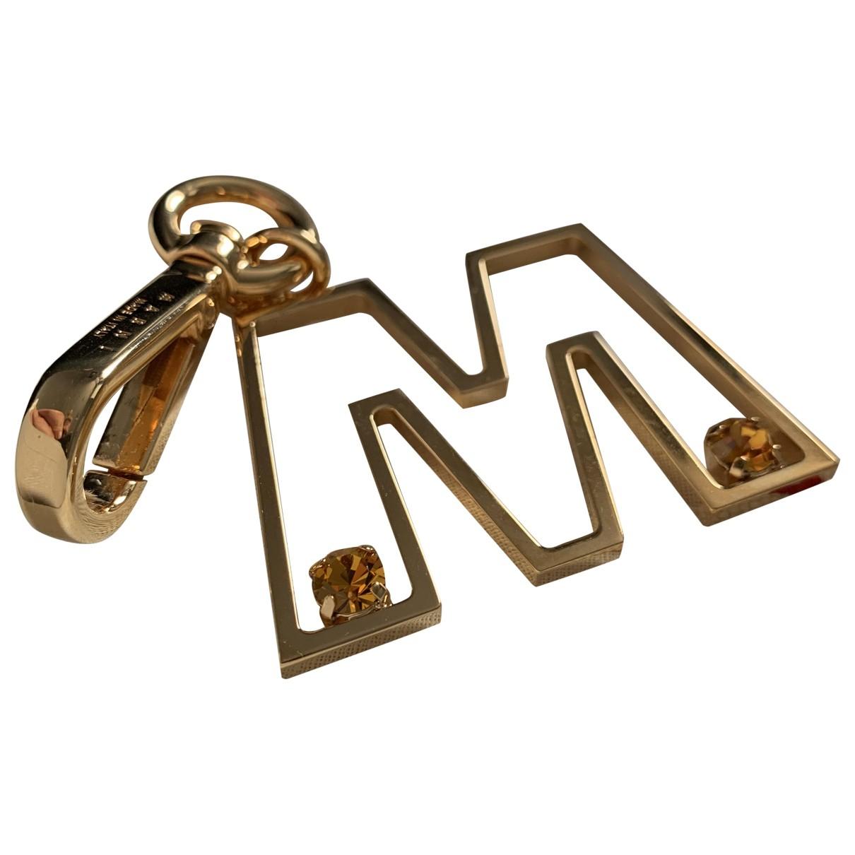 Marni \N Taschenschmuck in  Gold Metall