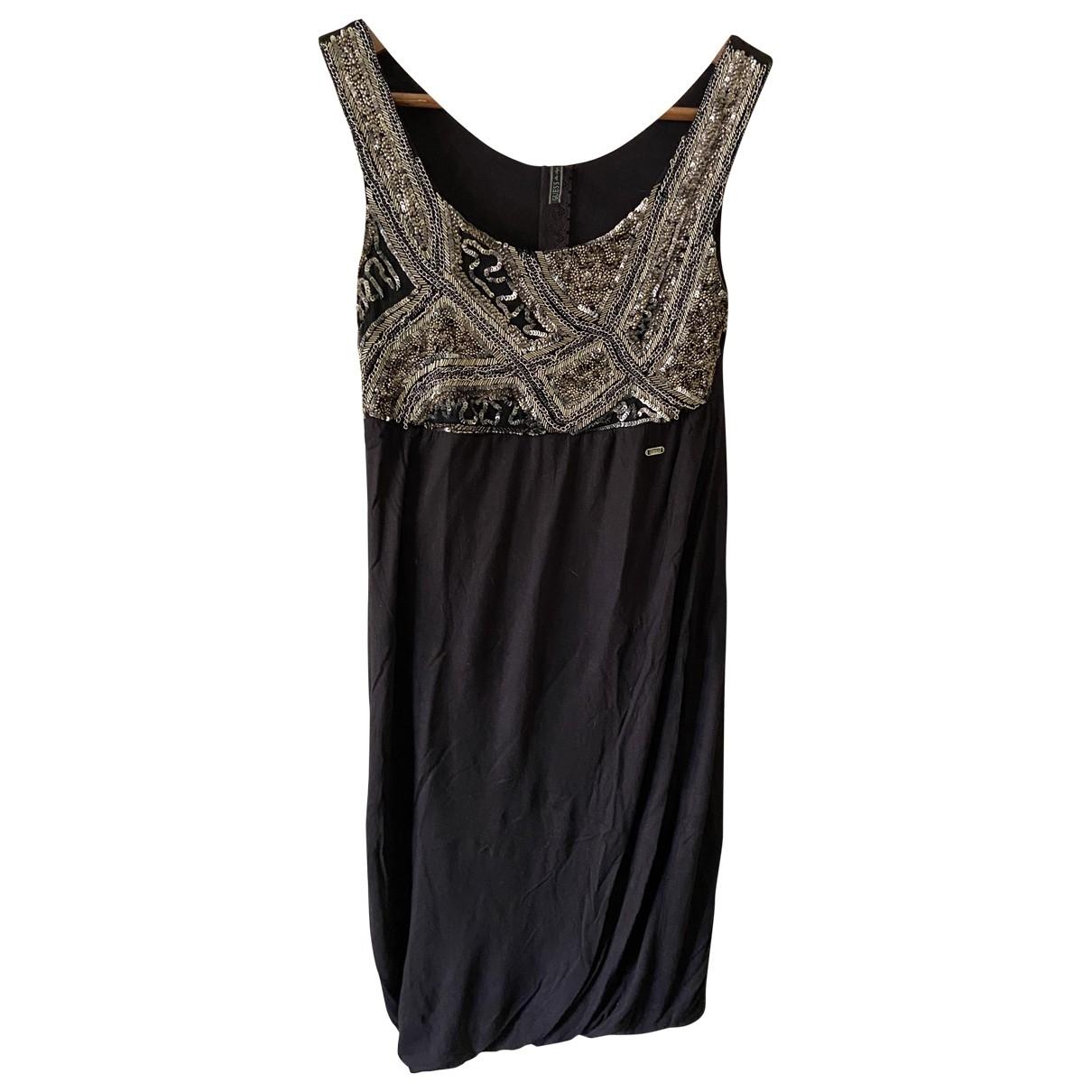 Guess \N Black Cotton dress for Women S International