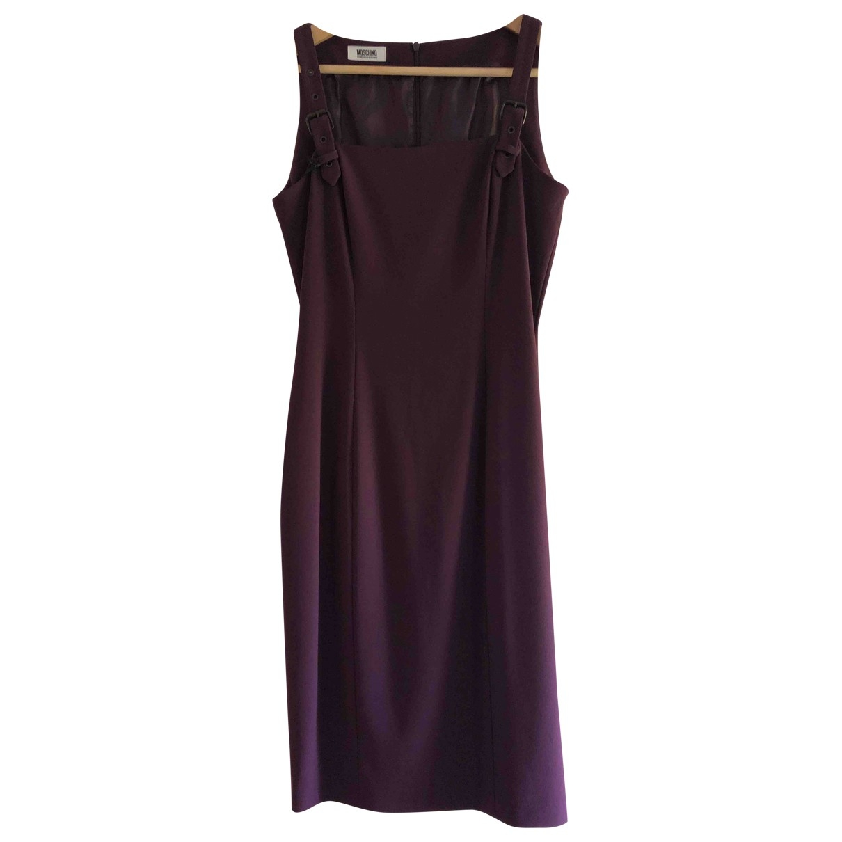 Moschino Cheap And Chic \N Kleid in  Lila Synthetik