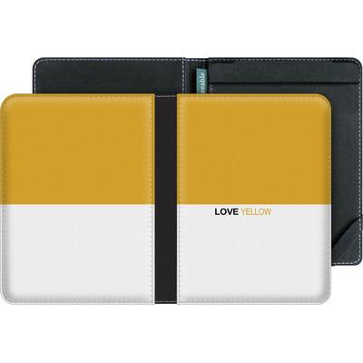 tolino vision 3 HD eBook Reader Huelle - LoveYellow von caseable Designs