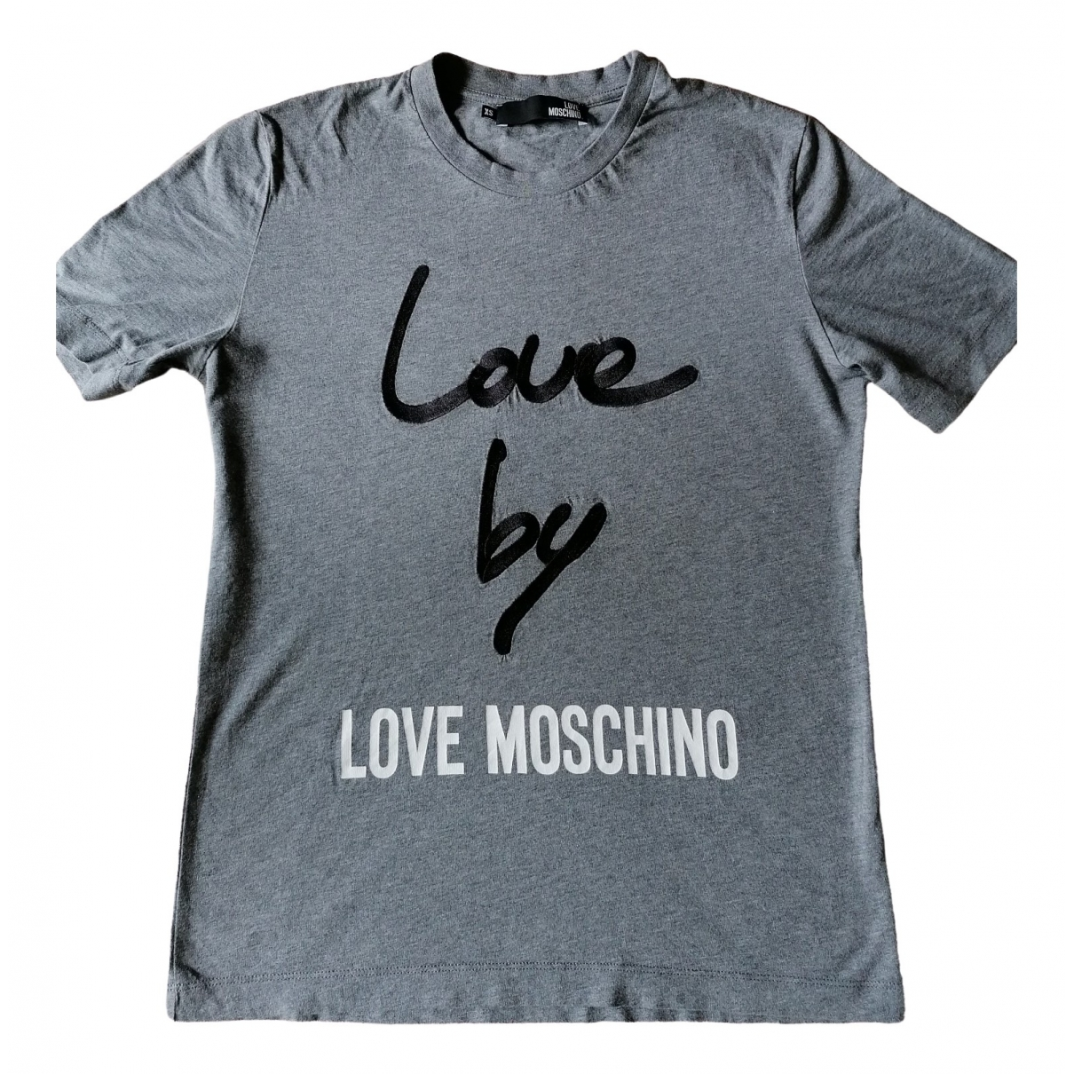 Moschino Love \N Grey Cotton  top for Women 38 IT