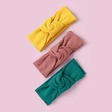 3 Stuecke Kleinkind Maedchen Haarband mit Schleife Dekor