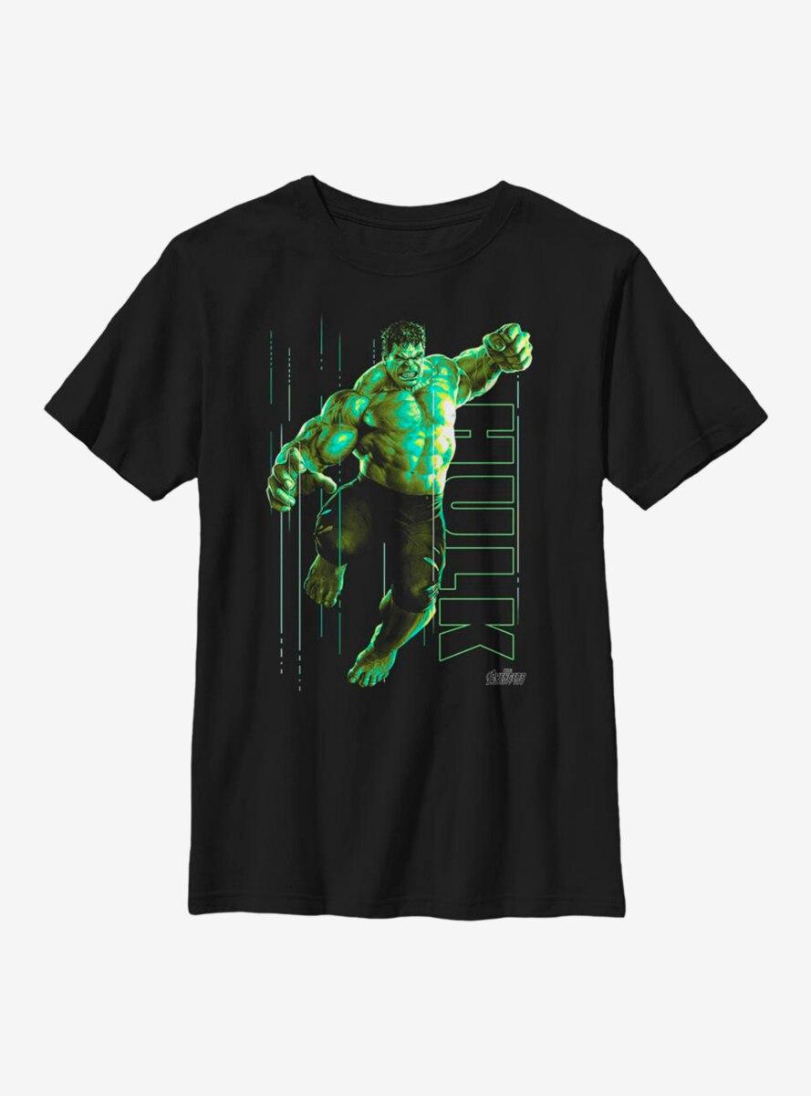 Marvel Hulk Glow Youth T-Shirt