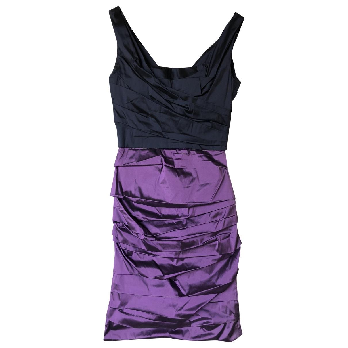Dolce & Gabbana - Robe   pour femme en soie - violet