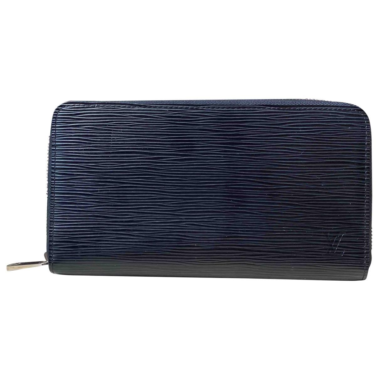 Louis Vuitton - Petite maroquinerie Zippy XL pour homme en cuir - noir
