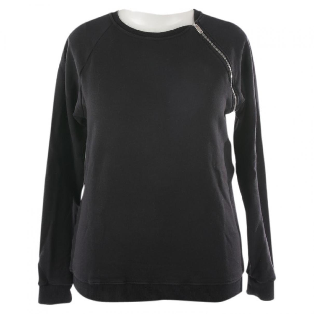 Saint Laurent N Black Cotton Knitwear for Women L International