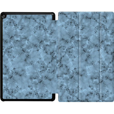 Amazon Fire HD 10 (2017) Tablet Smart Case - Blue Marble von caseable Designs