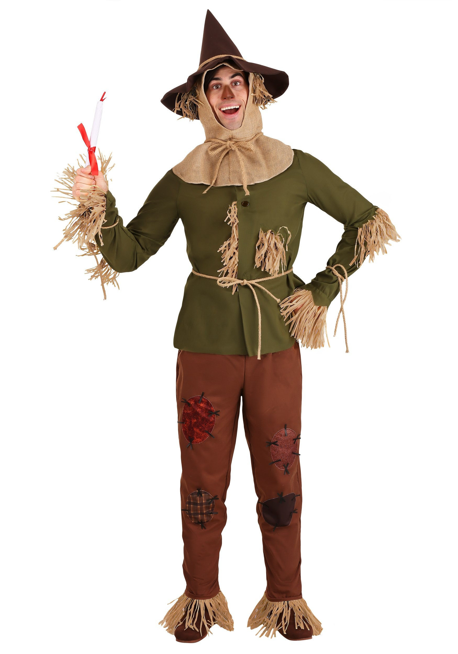 Wizard of Oz Scarecrow Costume for Adults