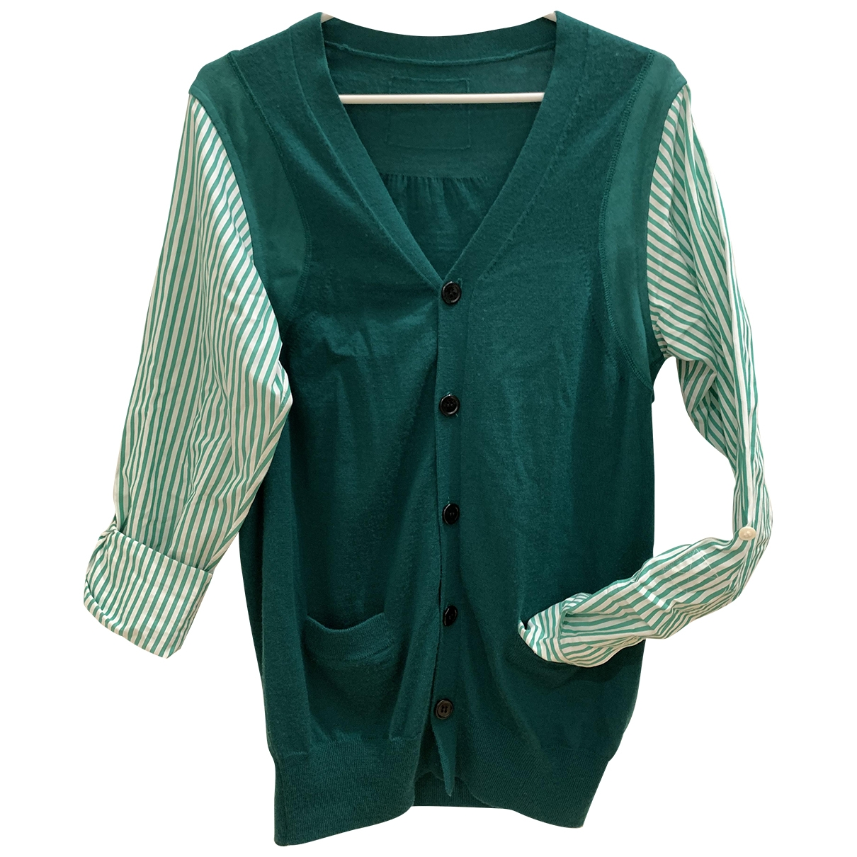 Comme Des Garcons - Pull   pour femme en laine - vert