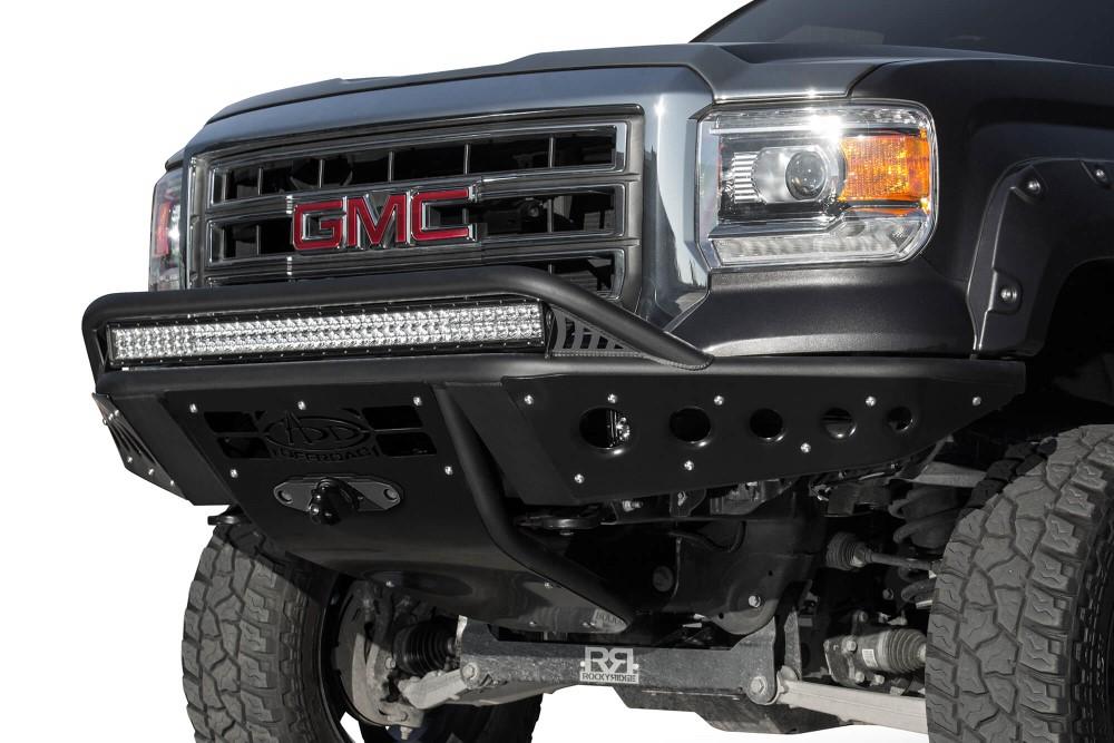 Addictive Desert Design Stealth Front Bumper GMC Sierra 1500 14-16