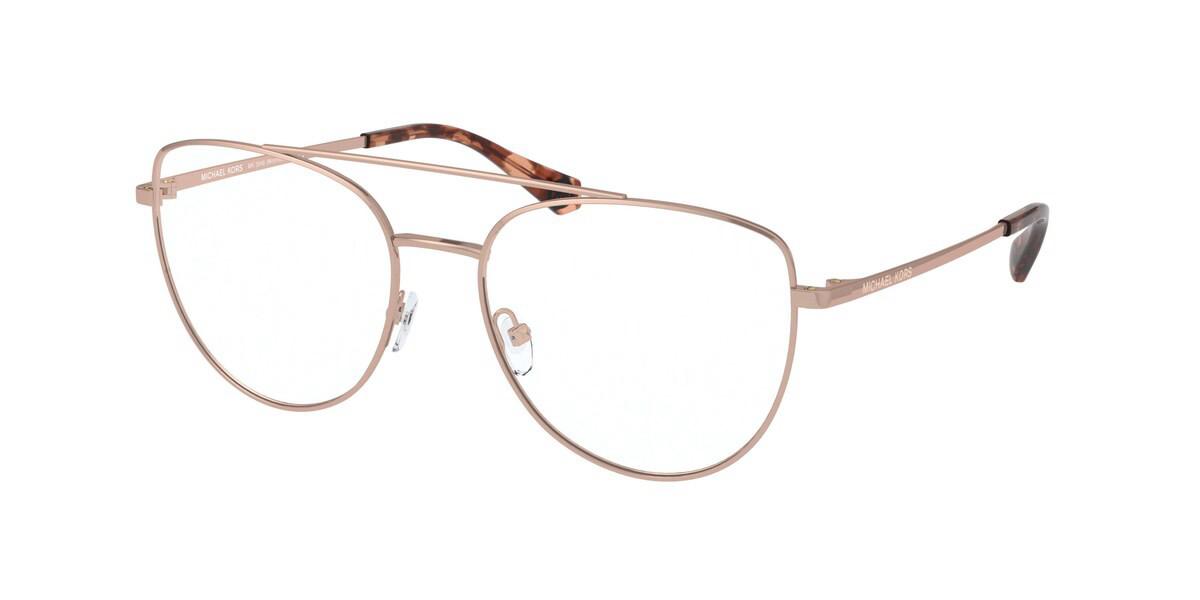 Michael Kors MK3048 MONTREAL 1108 Women's Glasses Gold Size 54 - Free Lenses - HSA/FSA Insurance - Blue Light Block Available