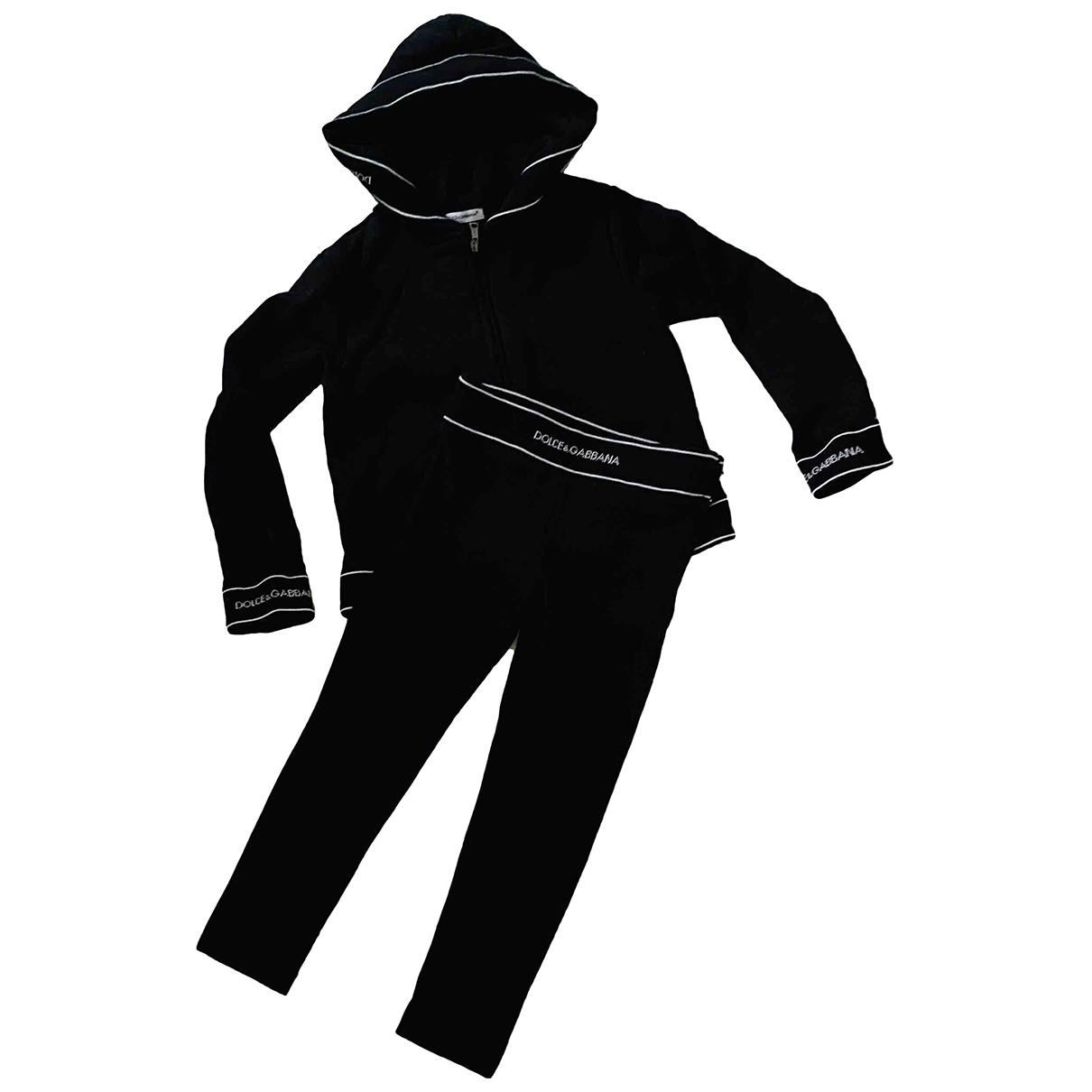 Dolce & Gabbana - Les ensembles   pour enfant en coton - noir