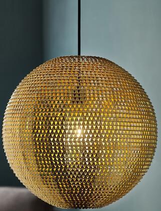 LIP16GLOGL Modern Bohemian Globe Hanging Pendant Light Lamp in