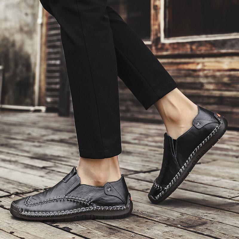Ericdress Plain Round Toe Men's Simple Shoes