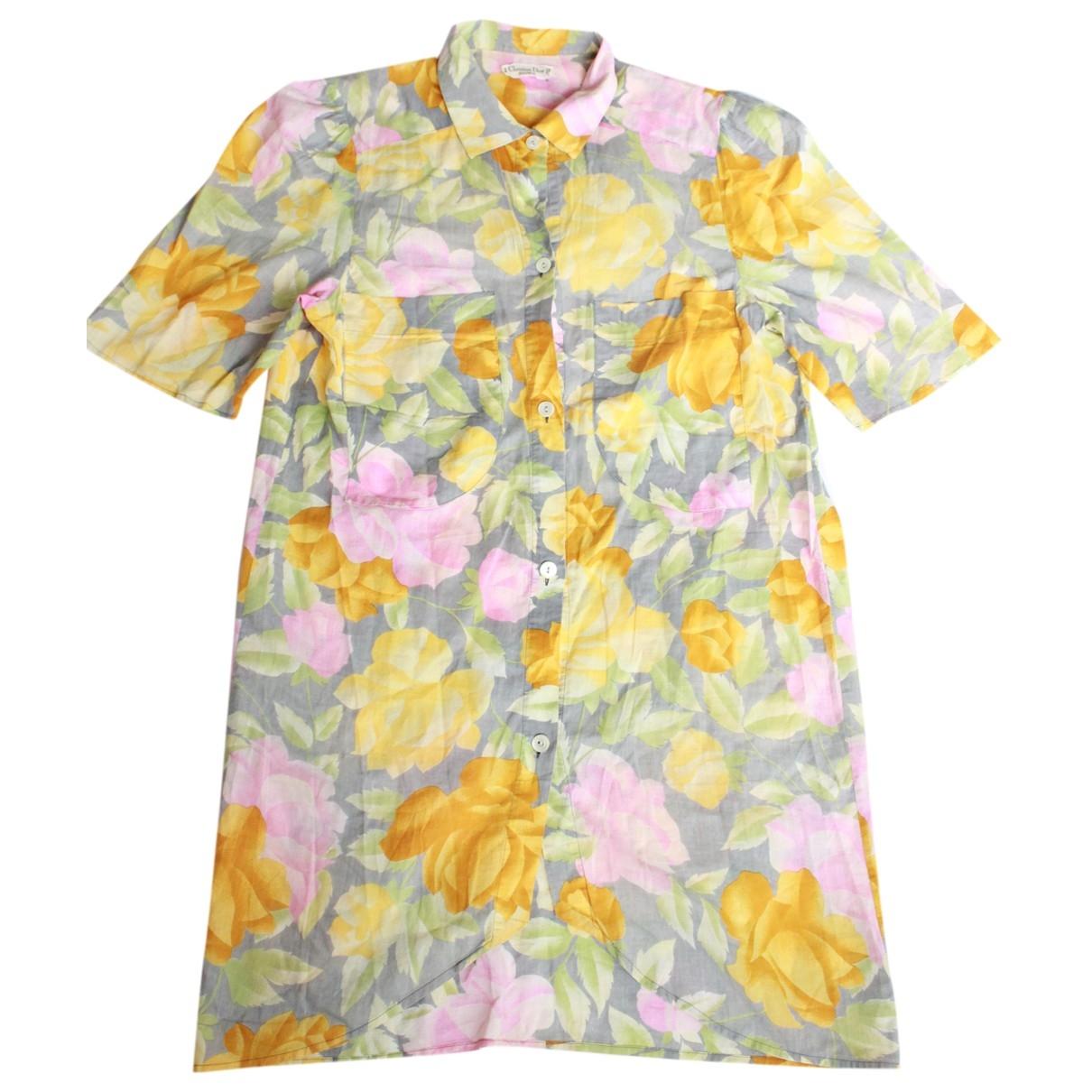Dior \N Multicolour Cotton dress for Women 12 UK