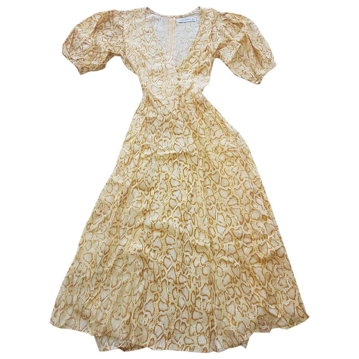Faithfull The Brand - Robe   pour femme - jaune