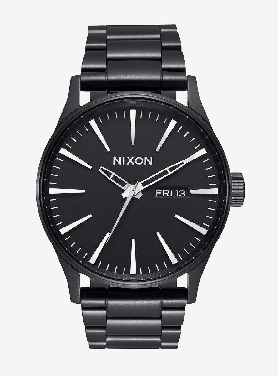 Nixon Sentry Ss All Black Watch