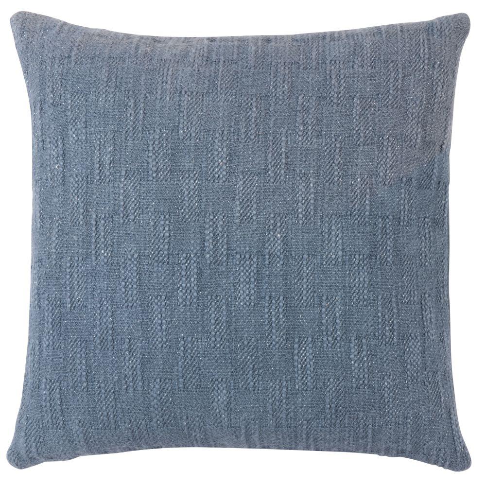 Kissenbezug aus Baumwolle, blau 40x40