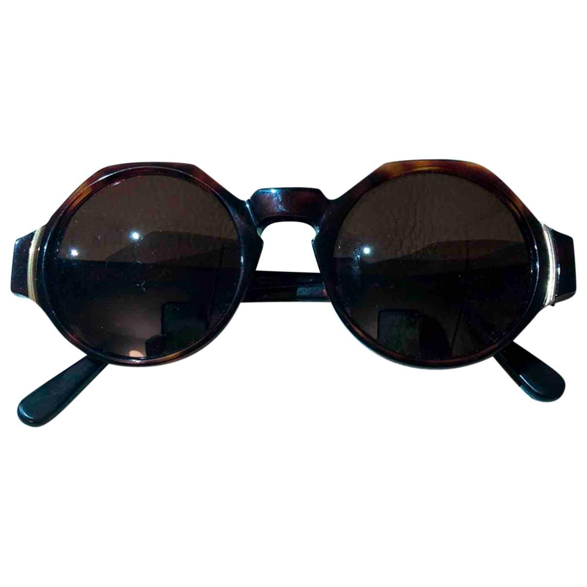 Pierre Balmain \N Sonnenbrillen in  Braun Kunststoff