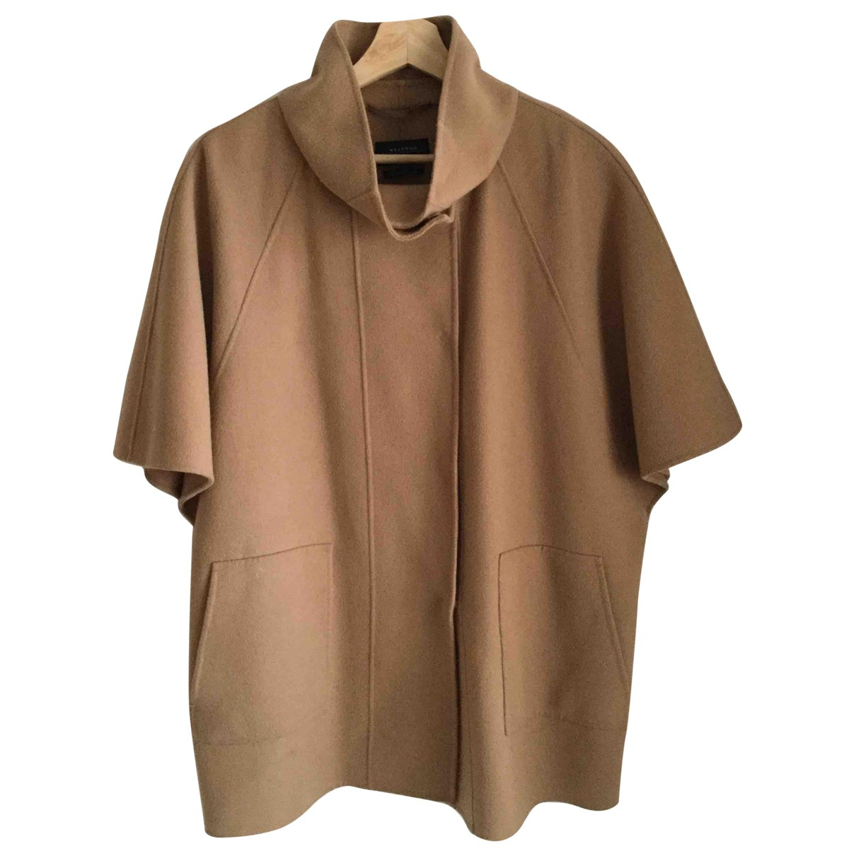 Max Mara \N Camel Wool coat for Women 40 IT