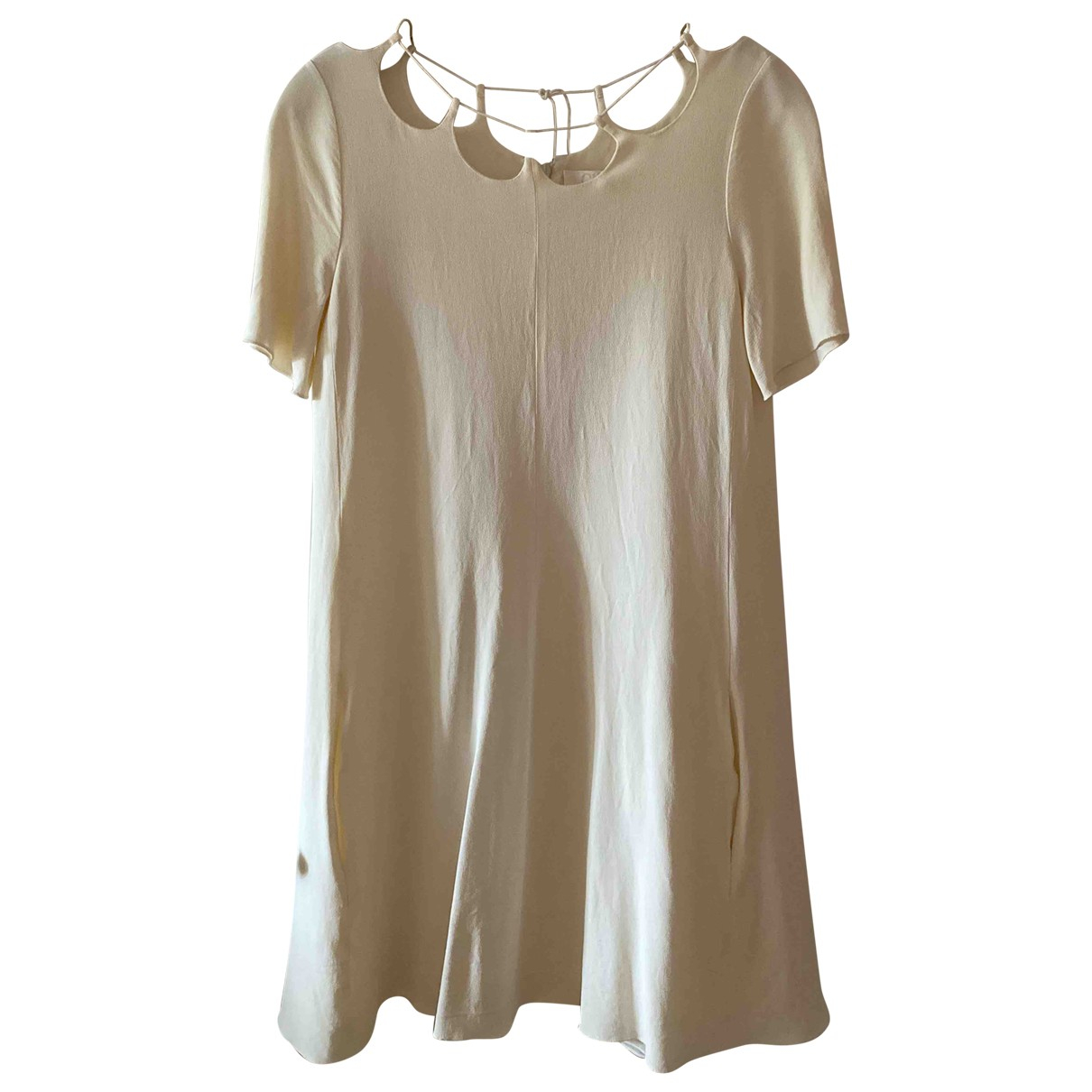 Chloé N Ecru dress for Women 36 FR