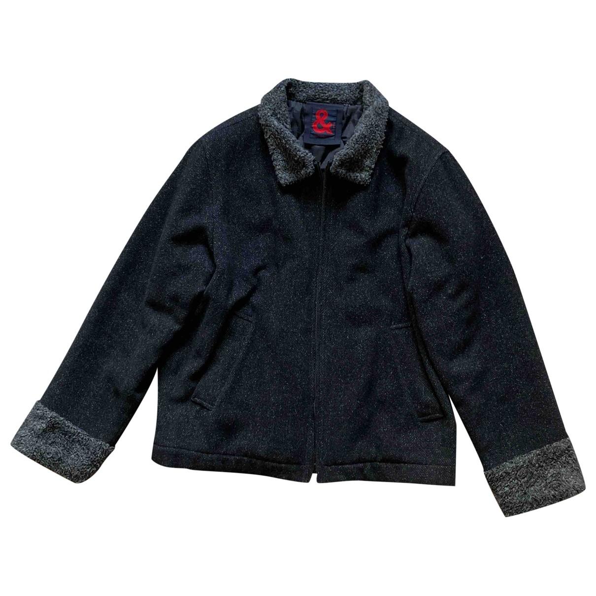 D&g - Vestes.Blousons   pour homme en laine - noir