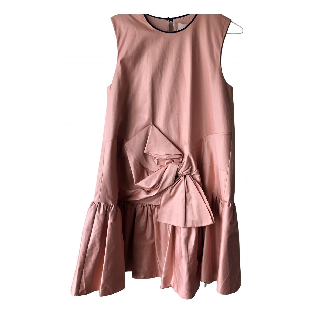 Roksanda N Beige Cotton dress for Women 10 UK