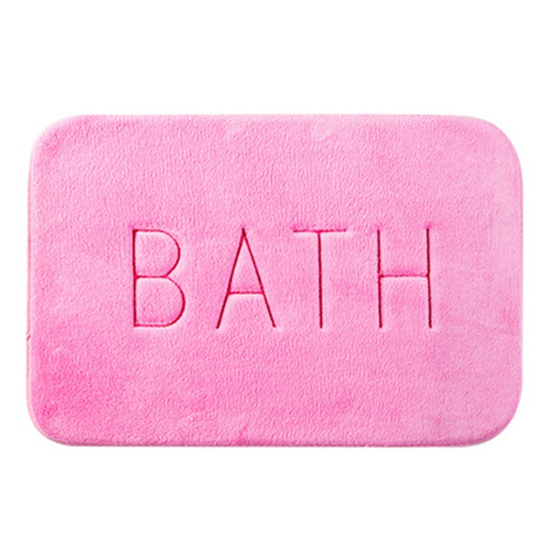 Ericdress Household Bathroom Common Absorption Water Non-Slip Mat