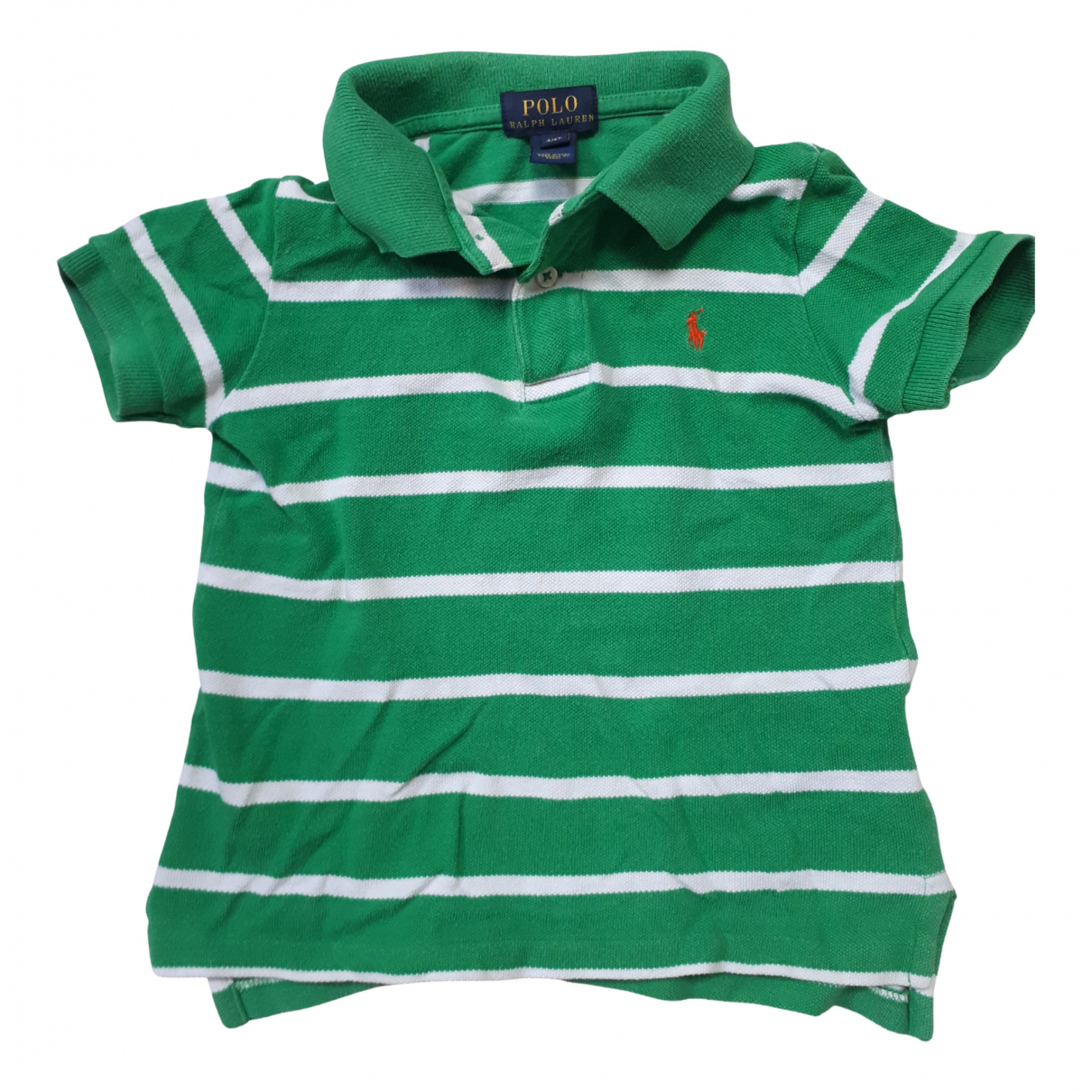 Polo Ralph Lauren N Green Cotton  top for Kids 4 years - up to 102cm FR