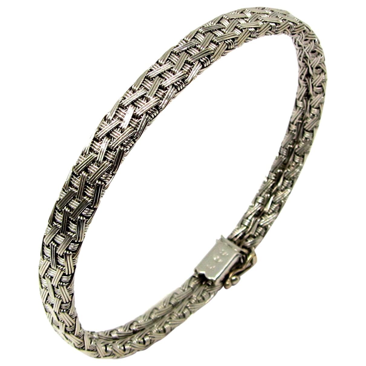 M Marani - Bracelet   pour femme en or blanc