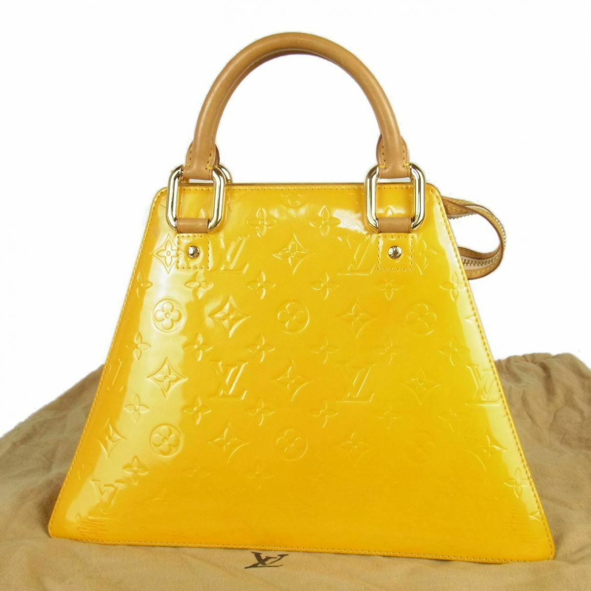 Louis Vuitton Forsyth Yellow Leather handbag for Women \N