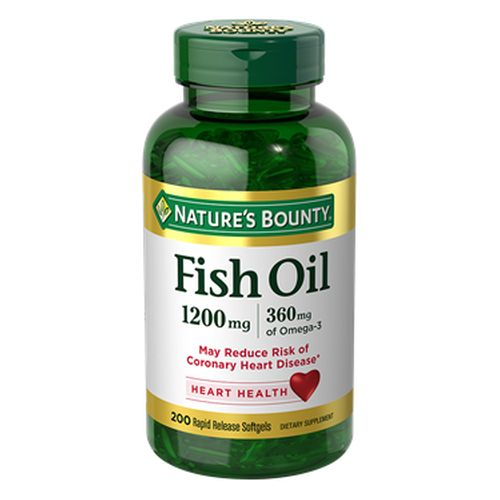 Omega-3 Fish Oil 12 X 200 Softgels by Nature's Bounty
