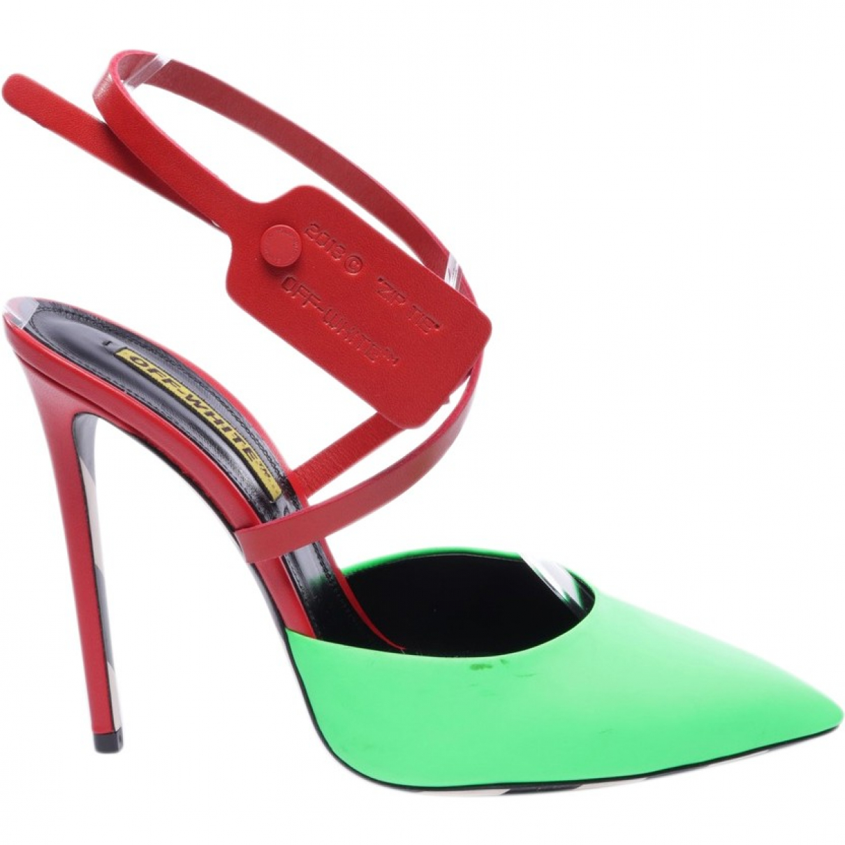 Off-white \N Leather Heels for Women 41 EU