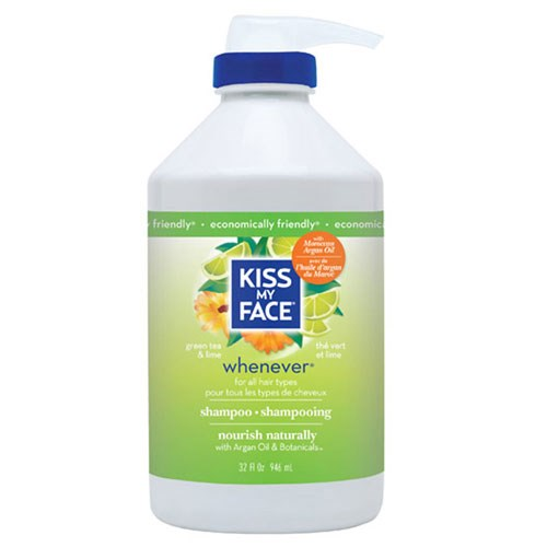 Whenever Shampoo Green Tea & Lime, 32 Oz by Kiss My Face