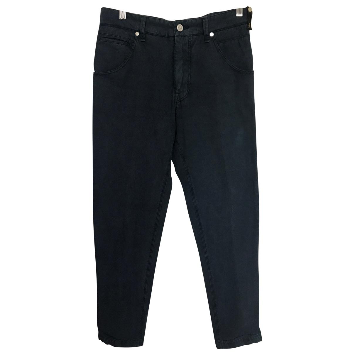Fendi \N Blue Cotton Jeans for Men S International