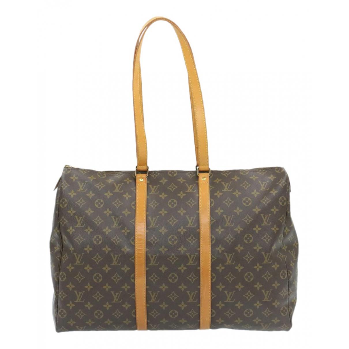 Louis Vuitton Flanerie Brown Cloth handbag for Women N