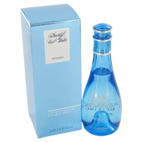 Davidoff - Cool Water Pour Femme : Deodorant Spray 3.4 Oz / 100 ml