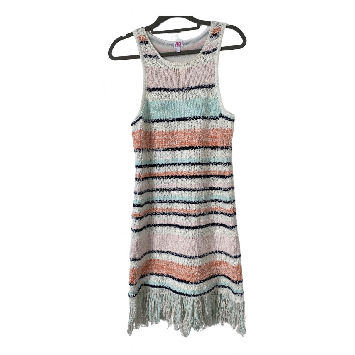 Juicy Couture \N Kleid in  Bunt Baumwolle