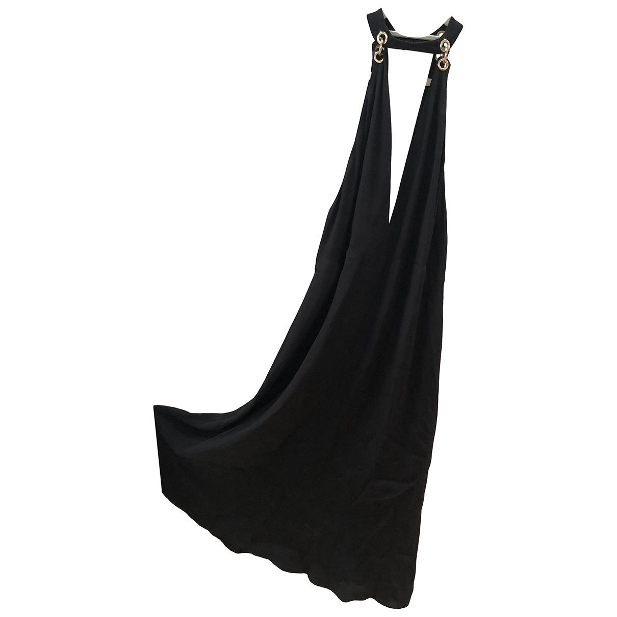 Rixo \N Kleid in  Schwarz Viskose