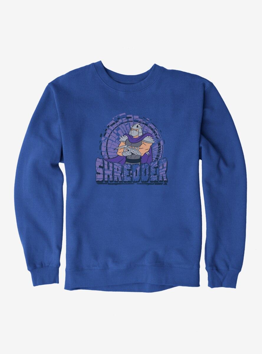 Teenage Mutant Ninja Turtles Shredder Pose Name Sweatshirt