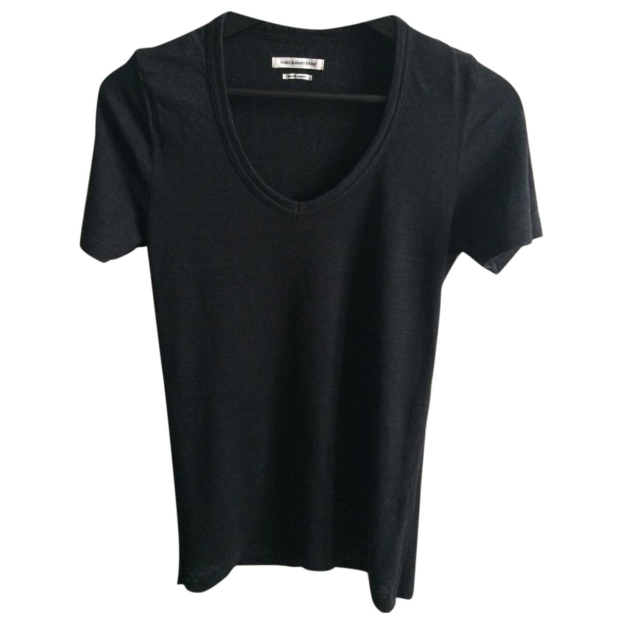 Camiseta de Lino Isabel Marant Etoile
