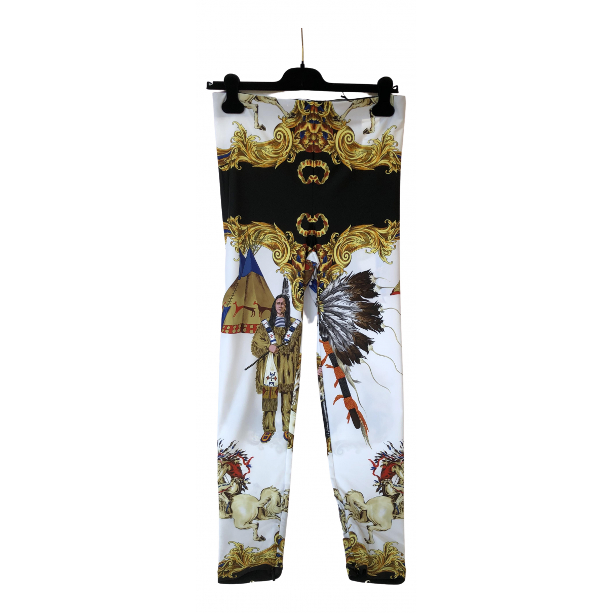 Versace \N Trousers for Women 44 IT